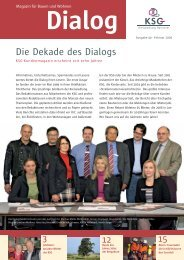 Die Dekade des Dialogs - KSG