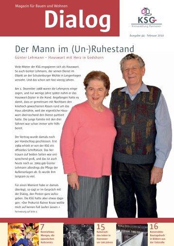 Dialog Magazin für Bauen und Wohnen - KSG