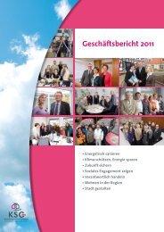 KSG-Geschäftsbericht 2011 (PDF-Datei)