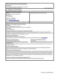 Informationen zum SCALA für den Verbraucher - Kreissparkasse ...