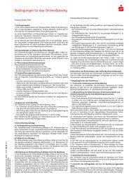 Bedingungen für das Online-Banking - Kreissparkasse Esslingen ...