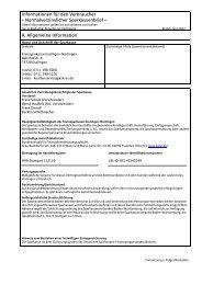 Informationen für den Verbraucher - Kreissparkasse Esslingen ...