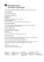 (AML) Statement - Kreissparkasse Esslingen-Nürtingen