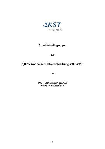 Download - KST Beteiligungs AG