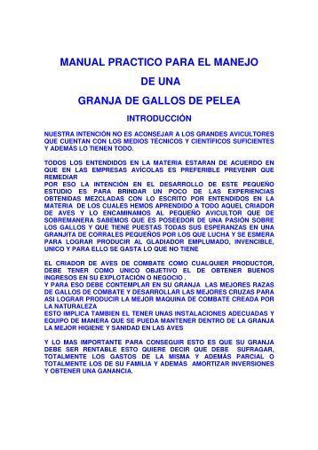MANUAL PRACTICO PARA EL MANEJO DE UNA ... - Bookandyou