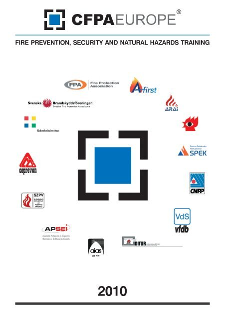 CFPA EUROPE - Fire Prevention and Security Training