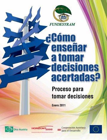 Proceso para tomar decisiones - fundesyram