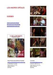 el dossier de la película - Doxa Producciones