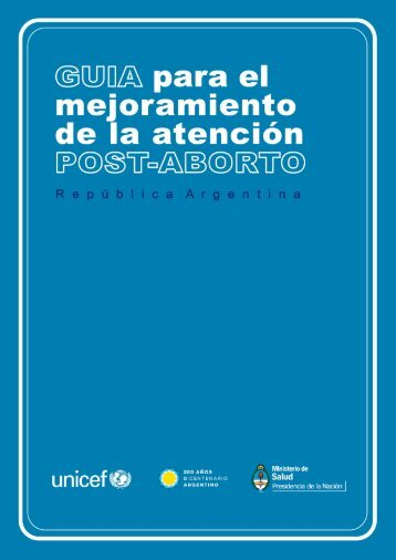 guía para el mejoramiento de la atención post-aborto - Ministerio de ...