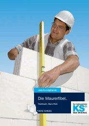 Die Maurerfibel. - KS* Original