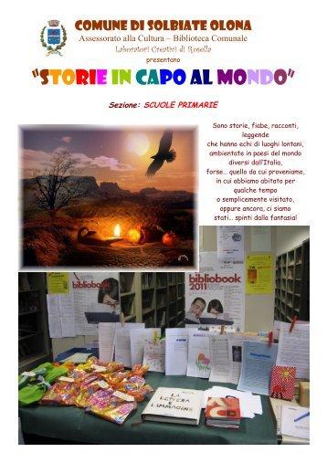 Raccolta Storie in capo al mondo – Sezione Scuola Primaria