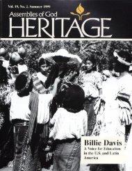 Billie Davis - Flower Pentecostal Heritage Center