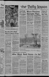 April 15 - The Daily Iowan Historic Newspapers - University of Iowa