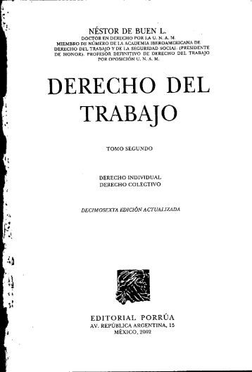 DERECHO DEL TRABAJO.pdf - Index of /prueba/descargas