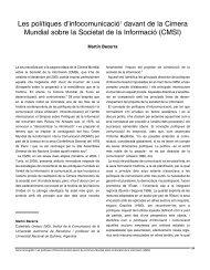 Les polítiques d'infocomunicació davant de la Cimera Mundial sobre ...