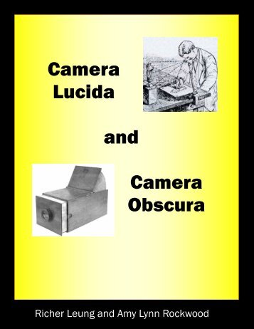 Camera Lucida and Camera Obscura - the Scientia Review
