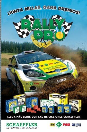 Rally Pro Junta Millas, Gana Premios