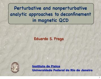 Perturbative and nonperturbative analytic approaches to ...
