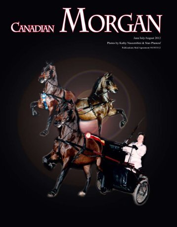 June/July/Aug 2012 - Canadian Morgan Horse Association