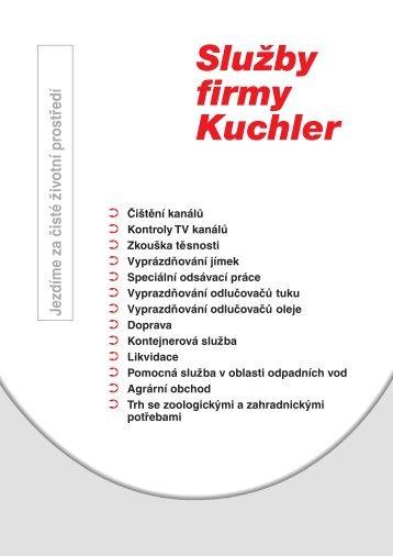 Prospekt 8stg. 4c A4 - Kuchler Service