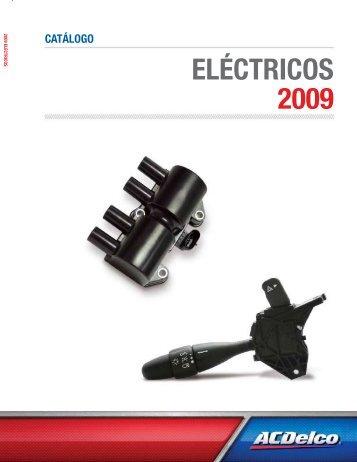 catálogo eléctricos 2009 - Acdelco.mx