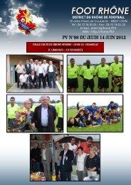 PV N°98 DU JEUDI 14 JUIN 2012