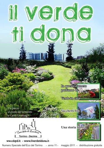 Verde in città Sacchetti bio Una storia fiorita - il verde ti dona