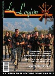 revista la legión nº 508. junio, julio, agosto 2009 - Portal de Cultura ...