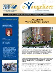 Alleluia! - Archdiocese of St. Louis