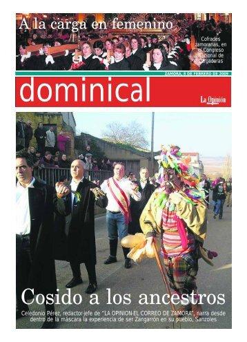 Suplemento Dominical - La Opinión de Zamora