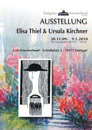 Elisa Thiel - Künstlerbund Stuttgart