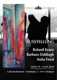 Pressemitteilung zur Ausstellung - Künstlerbund Stuttgart