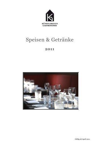 Bankettmappe, Künstlerhaus Gastronomie GmbH_brutto 2011