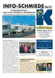 INFO-SCHMIEDE No.17 - Stahlbau Küppers GmbH