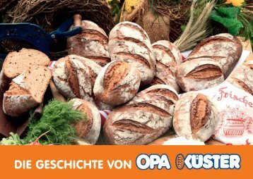 erfahren Sie alles über OPA KÜSTER - Bäckerei Küster GmbH