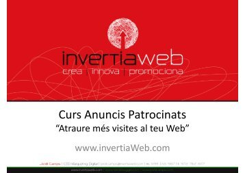Curs Google Analytics i AdWords - Part 3 - Nexes