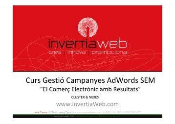 Curs Gestió Campanyes AdWords SEM - Nexes