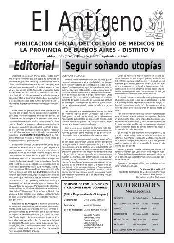 II - Colegio de Medicos de la Prov. de Bs. As. - Distrito V