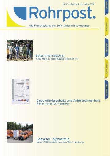Seier International Seevetal - Meckelfeld Gesundheitsschutz und ...