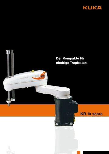 KR 10 scara - KUKA Roboter
