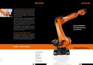 KUKA YOUR IDEAS - KUKA Robotics