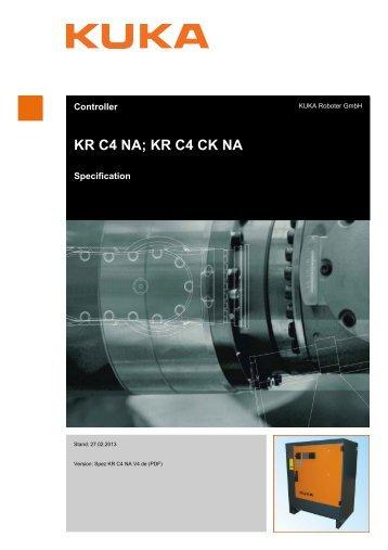 KR C4 NA; KR C4 CK NA - KUKA Robotics