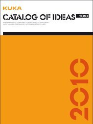 Catalog of Ideas - KUKA Roboter