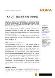 Press release to download (PDF-format) - KUKA Roboter