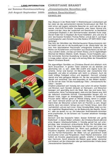 Weitere Informationen... - Kult-OUR-Tal-Museum