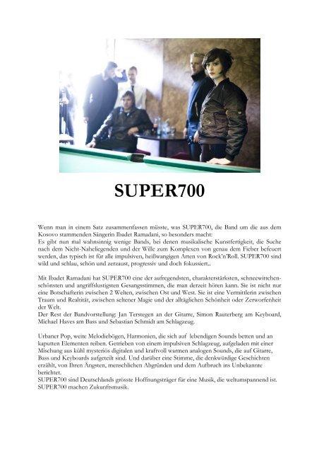 SUPER700 Pressetext 2010