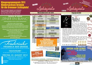 JULI 2012 - KulturKreis Gronau EV