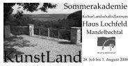 Programmheft 2008 (PDF - 3951,61 KB) - Saarpfalz-Kreis