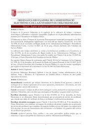OG26 Ordenança Municipal Reguladora de l'Administració Electrònica