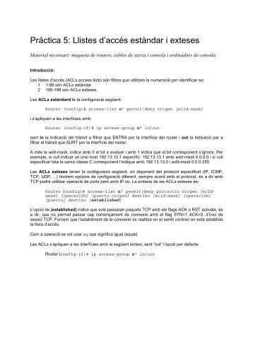 Pràctica 5 - Instituto de Robotica